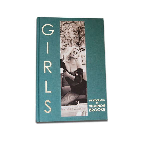 GIRLS Photographs by Shannon Brooke- high end art book