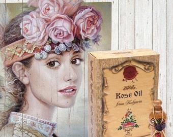 Pure Bulgarian rose oil / Damascena rose/