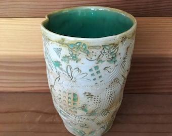 Holy Qeengish Stamped Porcelain Tumbler