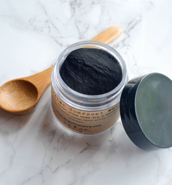 Why Activated Charcoal Is A Must For Skincare Masks: Activated Charcoal / Activated Charcoal Powder / Charcoal Mask