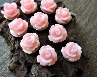 PUSH PINS Thumbtacks Decorative Flower Push Pin Set Wedding Boards Rose Bud Tacks Thumb Tack Message Bulletin Boards Office Cubical Decor
