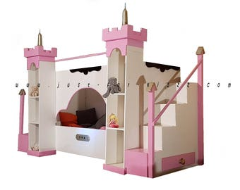 Princess Castle SINGEL bed