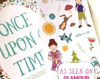 Kids Gift Ideas, Story Starter Journal, Kids Gift, Gift for Writers