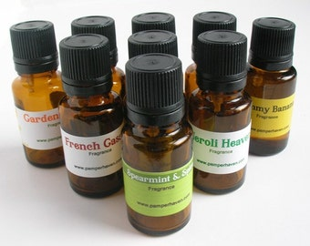 Spearmint Fragrance Oil,Soap and Candle fragrance, Vanilla Mint and Spice Scented Oil, Unisex Fragrance, Spearmint Oil Burner Fragrance