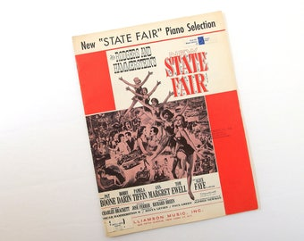State Fair Piano Selection, by Rodgers and Hammerstein
