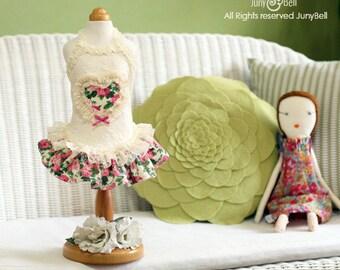 Spring Romance- Designer Handmade dress/apparels for Pets / Free Shipping