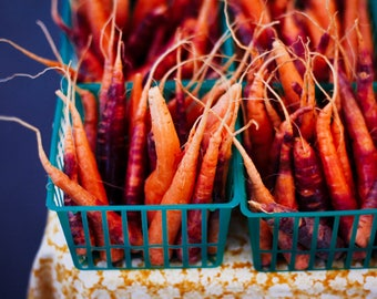 Carrot 3 Pack Farmer's Market Prints