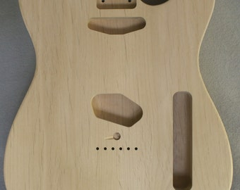 T-Style Alder Electric Guitar Body