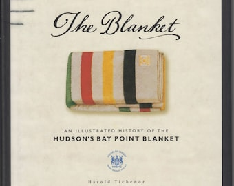 RARE Hudson Bay Blanket Experts Guide Book