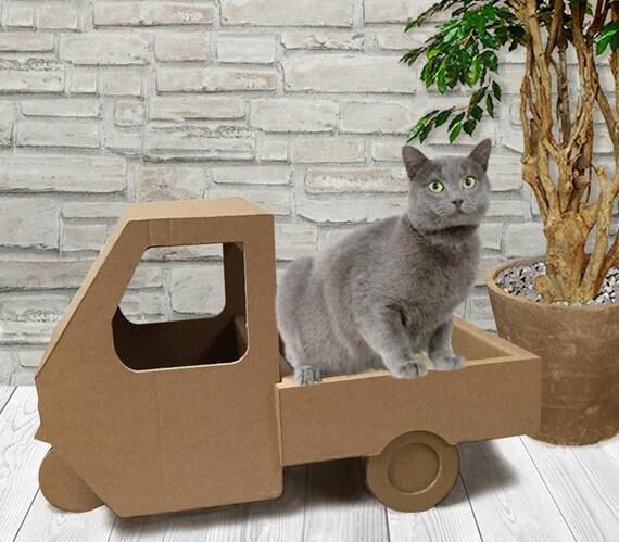 Cuccia per gatto alternativa casa per gatto casa di - Gatto defeca per casa ...