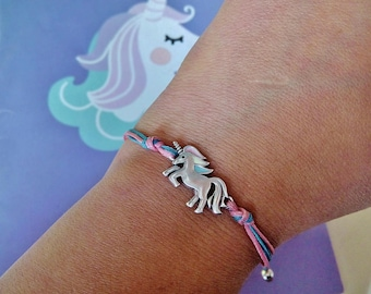 Unicorn bracelet Magical Unicorn jewelry Unicorn lover gifts Rainbow Unicorn girl bracelet Dainty Unicorn adult Unicorn kids Unicorn gifts