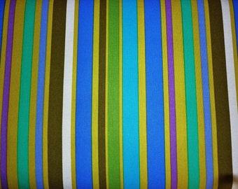 Pillow and Maxfield for Michael Miller, Pretty Bird, Garden Stripe In Moss DC4323 - 1 Yard Sale