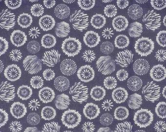 Tenugui Towel 'Navy Hanabi Fireworks' Fabric Japanese Cotton Gauze w/Free Insured Shipping