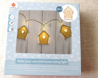 Creation of 10 bright houses Garland KIT