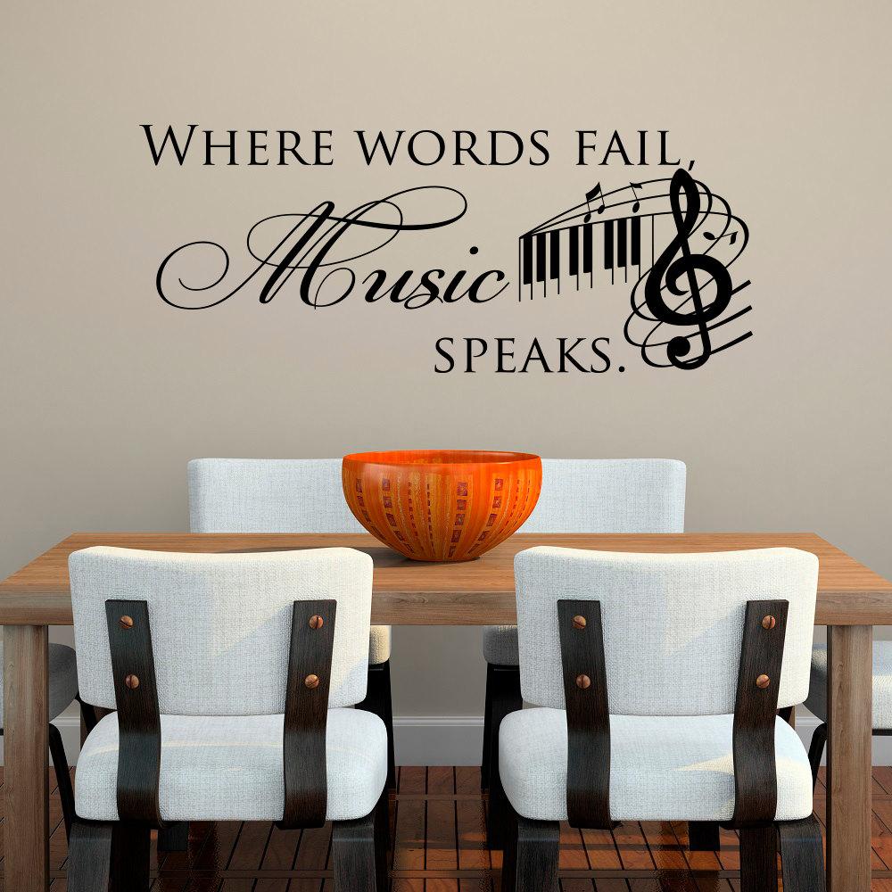 Description. Music Decal  Music Wall ...