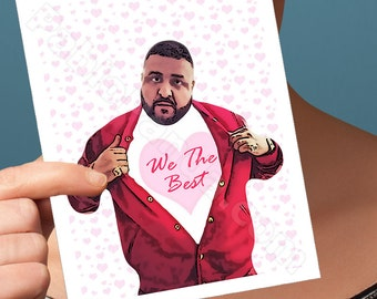 Anniversary Card | Dj Khaled | Boyfriend One Year 1 Year Anniversary Paper Anniversary Anniversary Gifts Husband Gift Gift For Best Friend