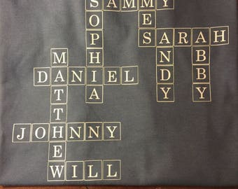 Crossword Name Shirt