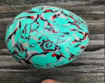 Shaker Egg, Southwest Inspiration, Percussion Egg, Musical Instrument Egg, Artistic Egg, Real Egg
