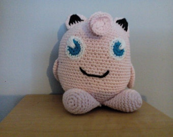 Jigglypuff plush cute monster pink free shipping!
