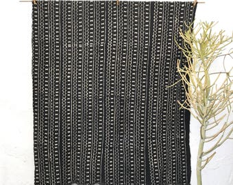 African Mudcloth Fabric, African Mud cloth fabric, black and white mudcloth home decor, ethnic decor #58