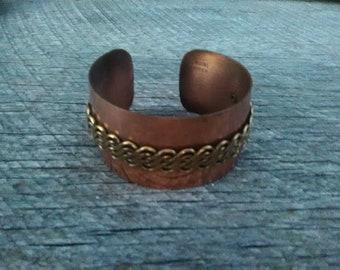 Genuine Vintage Copper Bracelet, Inv.#213