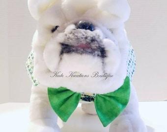 St. Patrick's Small Dog Vest/Pet Vest/St. Patrick's Vest