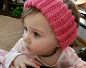 Pink Toddler Ear Warmer