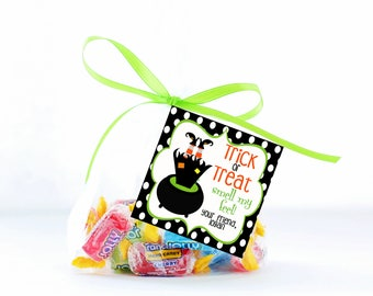 Personalized Halloween Tags