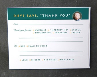 Easiest Thank You Cards Ever