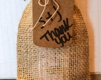 15 Burlap Favor Bag, Rustic Wedding Favor Bags, Rustic Party Favor Bags, 15 Burlap Favor Bags, Plain Burlap Drawstring Bags for Party Favors
