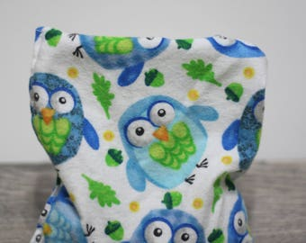 owls fibromyalgia relaxation owl gifts heat compress flax seeds pillow