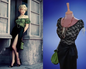 Marilyn Monroe...Bus Stop...Wrap skirt