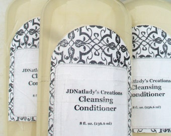 Cleansing Conditioner - cleansing - conditioner - sulfate free - product - hair cleanser - hair care product - hair product - natural hair
