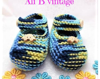 baby boy shoes baby shoes hand knitted shoes new baby baby footwear baby gift baby clothing blue shoes baby shower blue green navy shoes