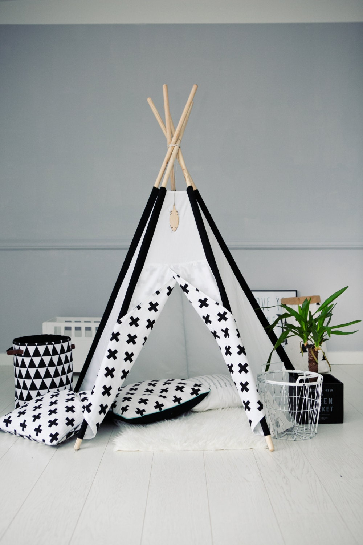 ?zoom & Tipi Kids Play Teepee Tent Wigwam Zelt Tente Playtent Kids
