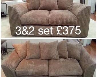 Brand new zina 3+2 sofas