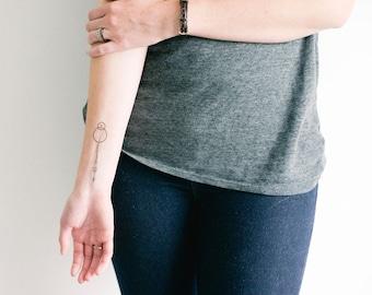 2 Dr. Woo inspired Temporary Tattoos- SmashTat