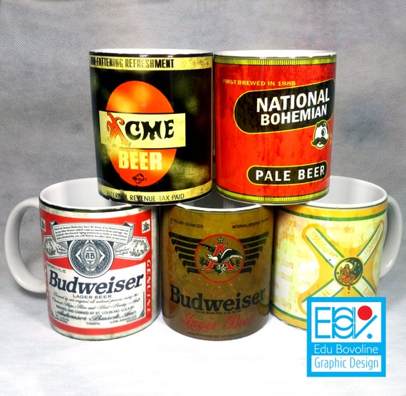 old beer cans template pack 1 5 beer cans