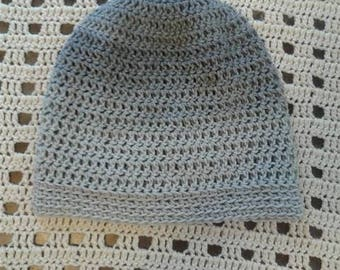 Grey Ombre Slouchy Beanie