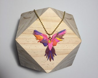 Necklace with Parrot pendant