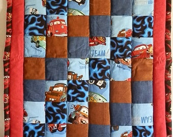 Disney's Cars Baby Quilt