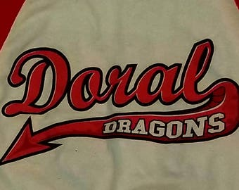 Vintage Tshirt--Baseball/Softball Jersey style