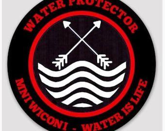 """3"""" WATER PROTECTOR Sticker"""