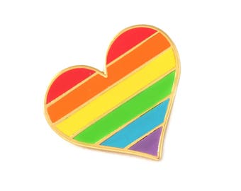 Pride pin, gay Gold enamel pin decoration, gay pin, LGBTQ pin, Lgbtq decoration, gay decoration, gay flag, LGBT community, LGBT flag pin
