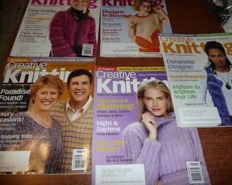 Creative Knitting Magazines You Choose The Issue