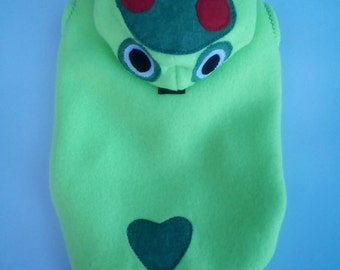 Frog costume for dogs, frog costume for cats, dog frog costume, frog costume for pets