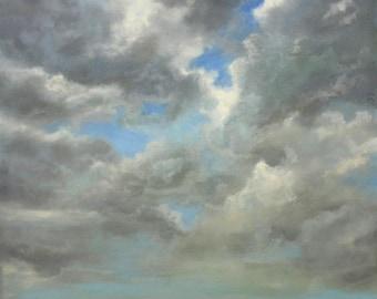 Landscape with Sweeping Clouds: Hope Springs Eternal