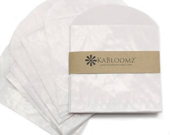 "20 - Glassine Envelopes with Flap, 3.5"" x 3.5"", Use for Wedding Favors, Bridal Shower Favors & Baby Shower Favors, Party Gifts, Seed Favors"