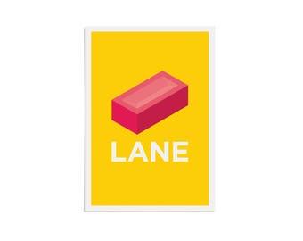 Brick Lane Pâté - Giclée Art Print