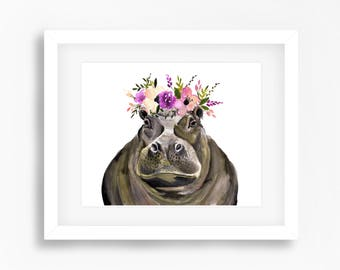 Hippo Print